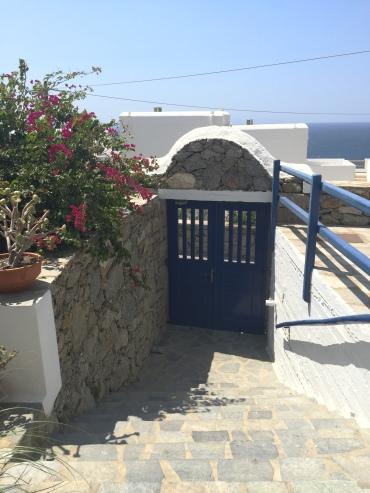 porta de entrada do hotel