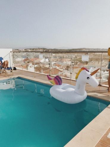 piscina na cobertura <3